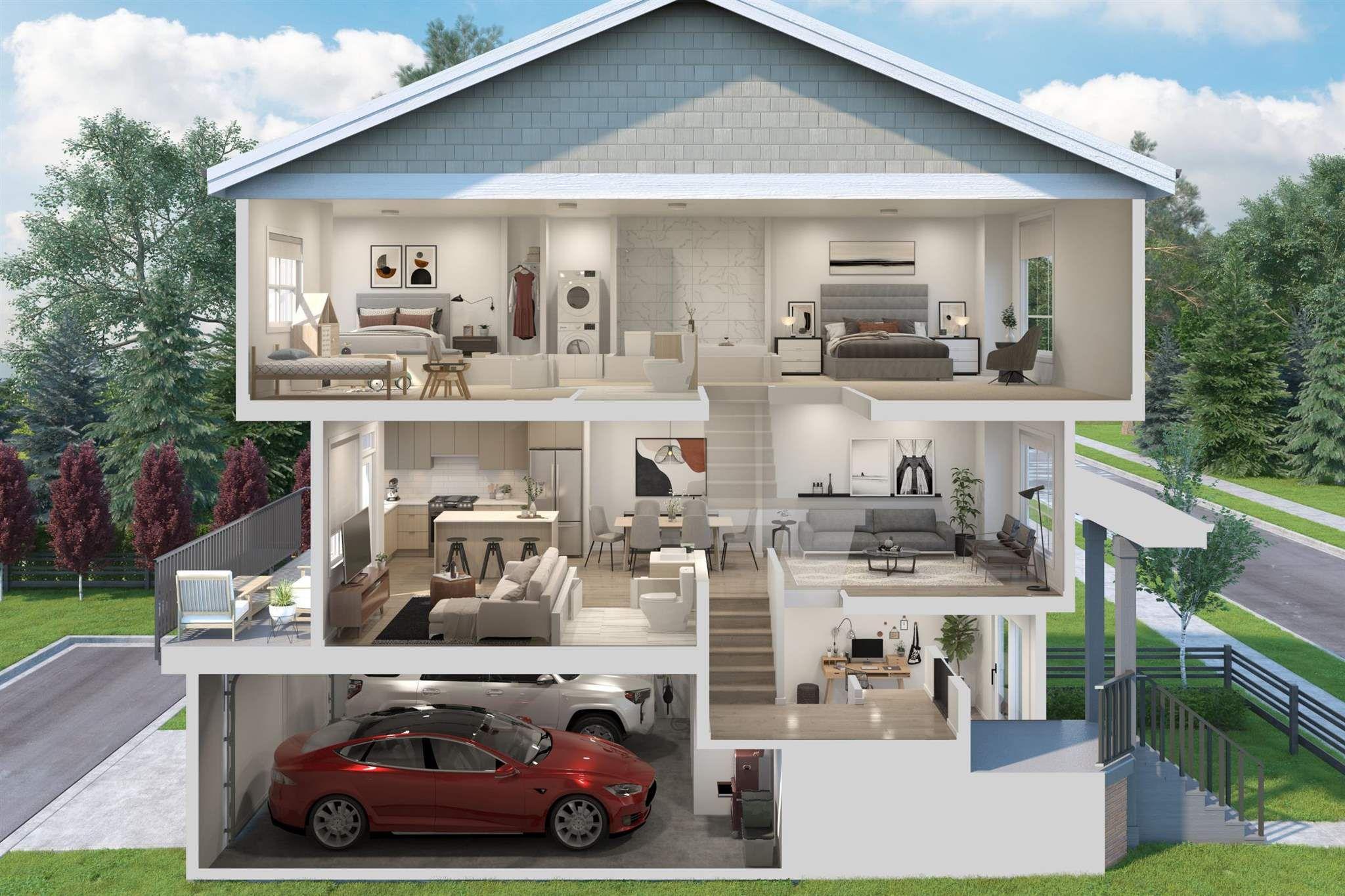 """Main Photo: 46 11556 72A Avenue in Delta: Scottsdale Townhouse for sale in """"Oakcrest"""" (N. Delta)  : MLS®# R2595407"""