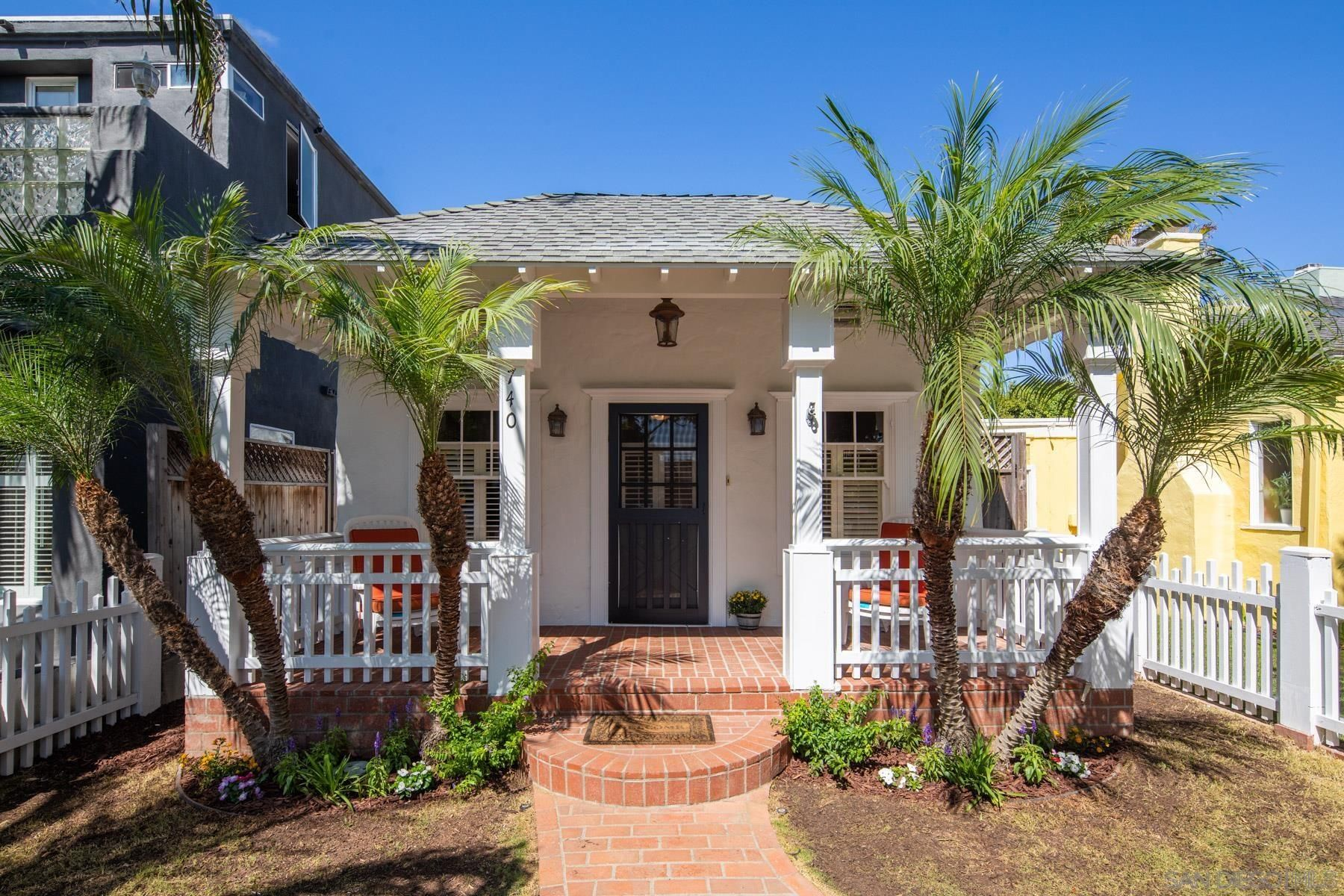 Main Photo: CORONADO VILLAGE House for sale : 3 bedrooms : 740 I Ave in Coronado