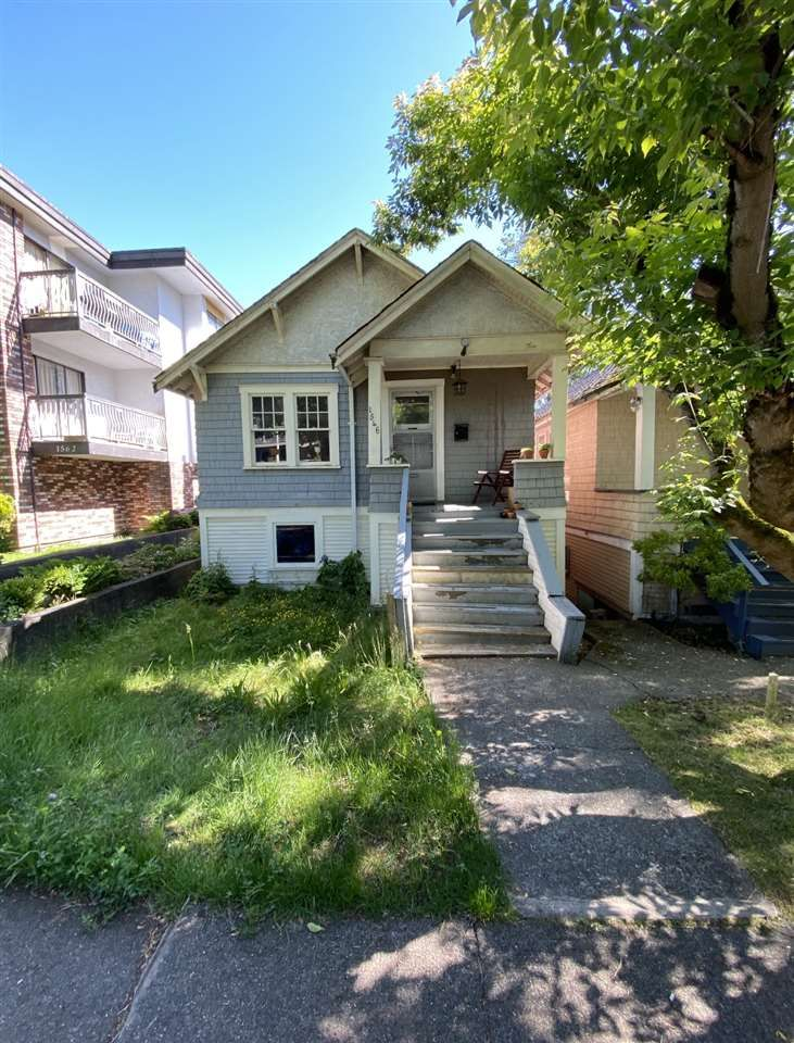 Main Photo: 1546 E. 3RD AVENUE in Vancouver: Grandview Woodland VE House for sale (Vancouver East)  : MLS®# R2461134