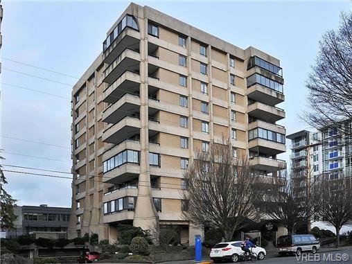 Main Photo: 802 1034 Johnson St in VICTORIA: Vi Downtown Condo for sale (Victoria)  : MLS®# 682246