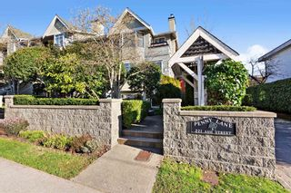 """Photo 1: 17 221 ASH Street in New Westminster: Uptown NW Townhouse for sale in """"PENNY LANE"""" : MLS®# R2531968"""