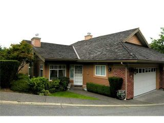 """Photo 1: 17 5201 OAKMOUNT Crescent in Burnaby: Oaklands Townhouse for sale in """"THE HARTLANDS"""" (Burnaby South)  : MLS®# V849667"""