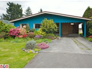 """Photo 1: 14176 MALABAR Avenue: White Rock House for sale in """"MARINE DRIVE WEST"""" (South Surrey White Rock)  : MLS®# F1112678"""