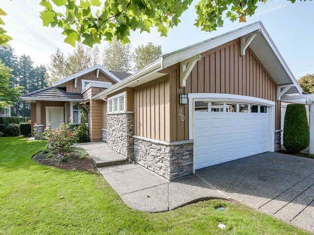 """Main Photo: 20 18088 8TH Avenue in Surrey: Hazelmere Townhouse for sale in """"HAZELMERE VILLAGE"""" (South Surrey White Rock)  : MLS®# F1428771"""