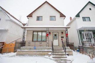 Photo 1: 709 Elgin Avenue in Winnipeg: Weston Residential for sale (5D)  : MLS®# 1730894