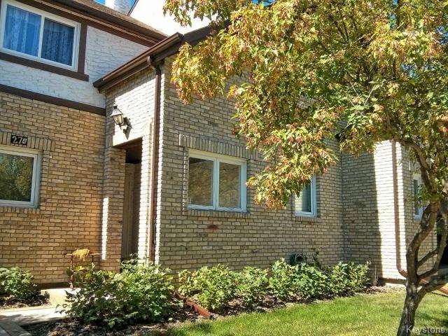 Main Photo: 27 Apple Lane in WINNIPEG: Westwood / Crestview Condominium for sale (West Winnipeg)  : MLS®# 1408666