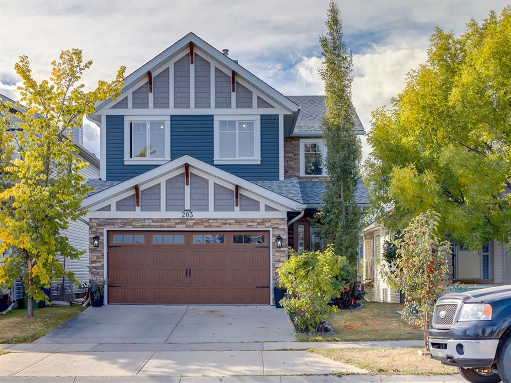 Main Photo: 203 SAGEWOOD Boulevard SW: Airdrie Detached for sale : MLS®# A1037053