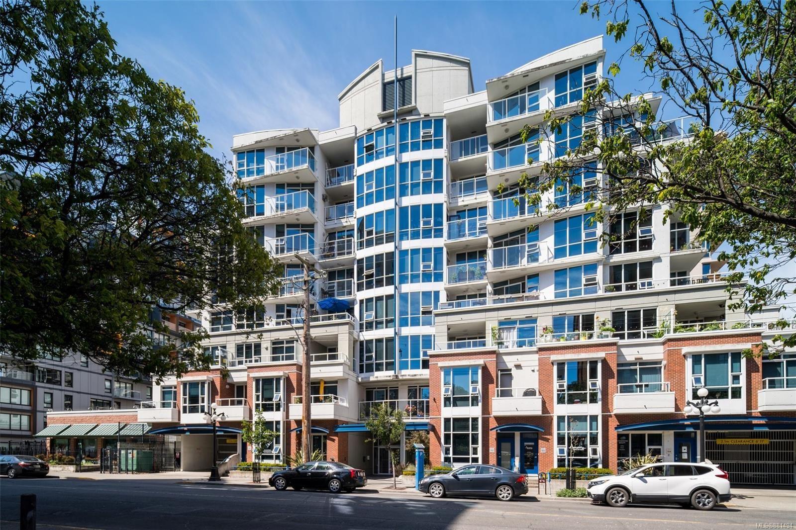 Main Photo: 608 860 View St in Victoria: Vi Downtown Condo for sale : MLS®# 881494