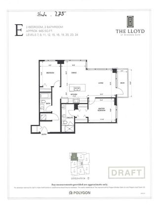 """Photo 34: 1105 3100 WINDSOR Gate in Coquitlam: New Horizons Condo for sale in """"THE LLOYD"""" : MLS®# R2545429"""