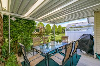 """Photo 28: 109 19649 53 Avenue in Langley: Langley City Townhouse for sale in """"Huntsfield Green"""" : MLS®# R2591188"""
