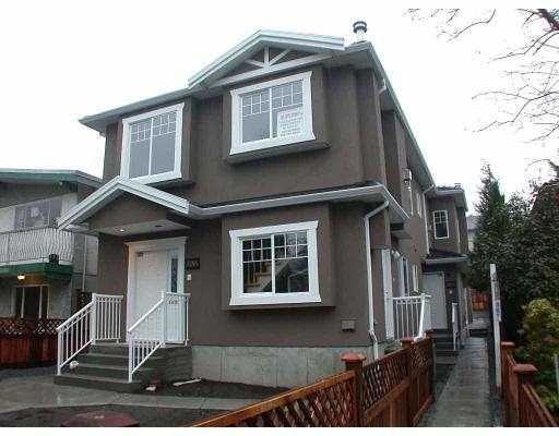 Main Photo: 5018 HOY ST in Vancouver: Collingwood Vancouver East 1/2 Duplex for sale (Vancouver East)  : MLS®# V579231