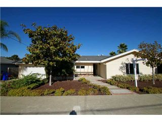 Photo 1: Residential for sale : 3 bedrooms : 5385 Brockbank in San Diego