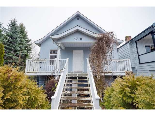 Main Photo: 3716 SLOCAN Street in Vancouver: Renfrew Heights House for sale (Vancouver East)  : MLS®# V1102738