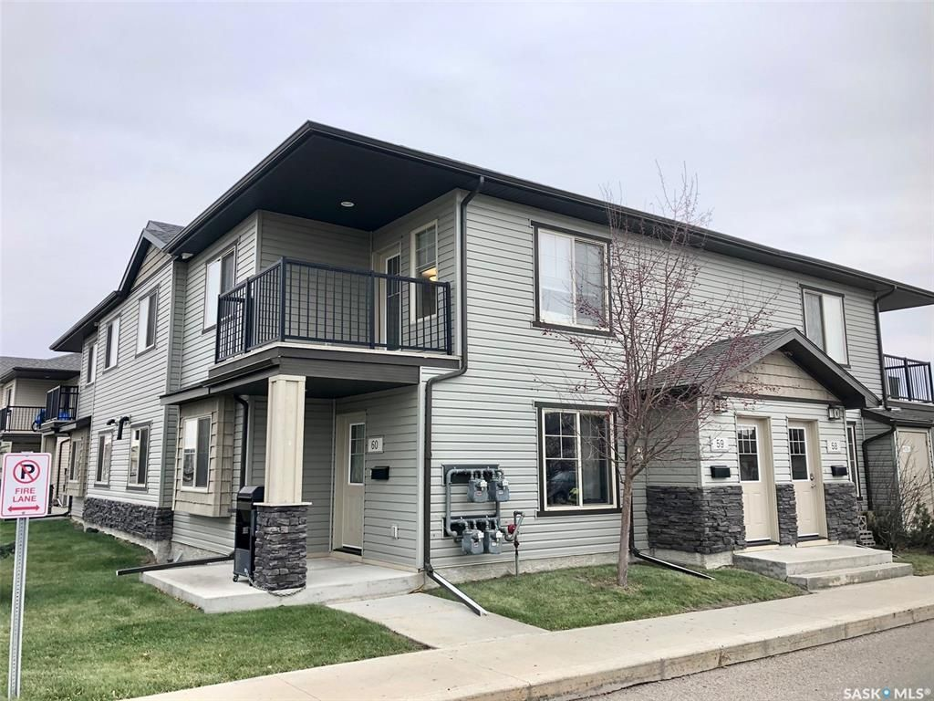 Main Photo: 59 5031 James Hill Road in Regina: Harbour Landing Residential for sale : MLS®# SK833132