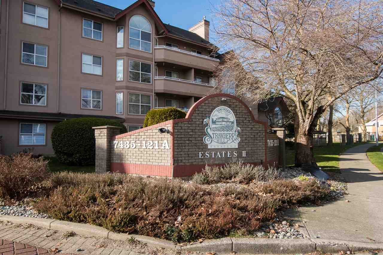 "Main Photo: 310 7435 121A Street in Surrey: West Newton Condo for sale in ""Strawberry Hill Estates II"" : MLS®# R2552365"