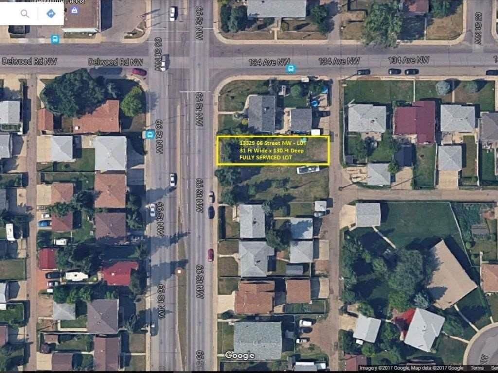 Main Photo: 13329 66 Street NW in Edmonton: Zone 02 Vacant Lot for sale : MLS®# E4244123