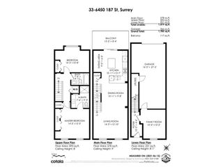 """Photo 31: 33 6450 187 Street in Surrey: Cloverdale BC Townhouse for sale in """"Hillcrest"""" (Cloverdale)  : MLS®# R2593415"""