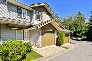 """Photo 1: 151 12040 68 Avenue in Surrey: West Newton Townhouse for sale in """"Terrance"""" : MLS®# R2591357"""