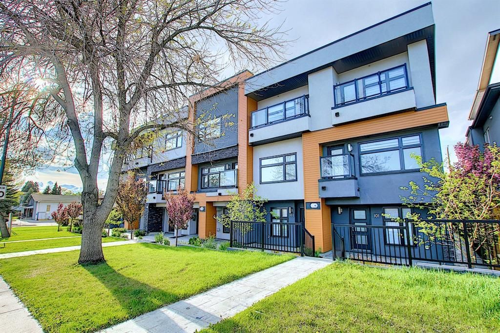 Main Photo: 109 1632 20 Avenue in Calgary: Capitol Hill Row/Townhouse for sale : MLS®# A1112900