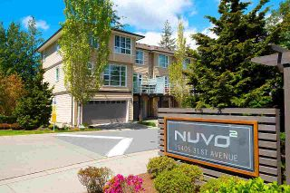 """Photo 1: 74 15405 31 Avenue in Surrey: Grandview Surrey Townhouse for sale in """"NUVO2"""" (South Surrey White Rock)  : MLS®# R2577675"""