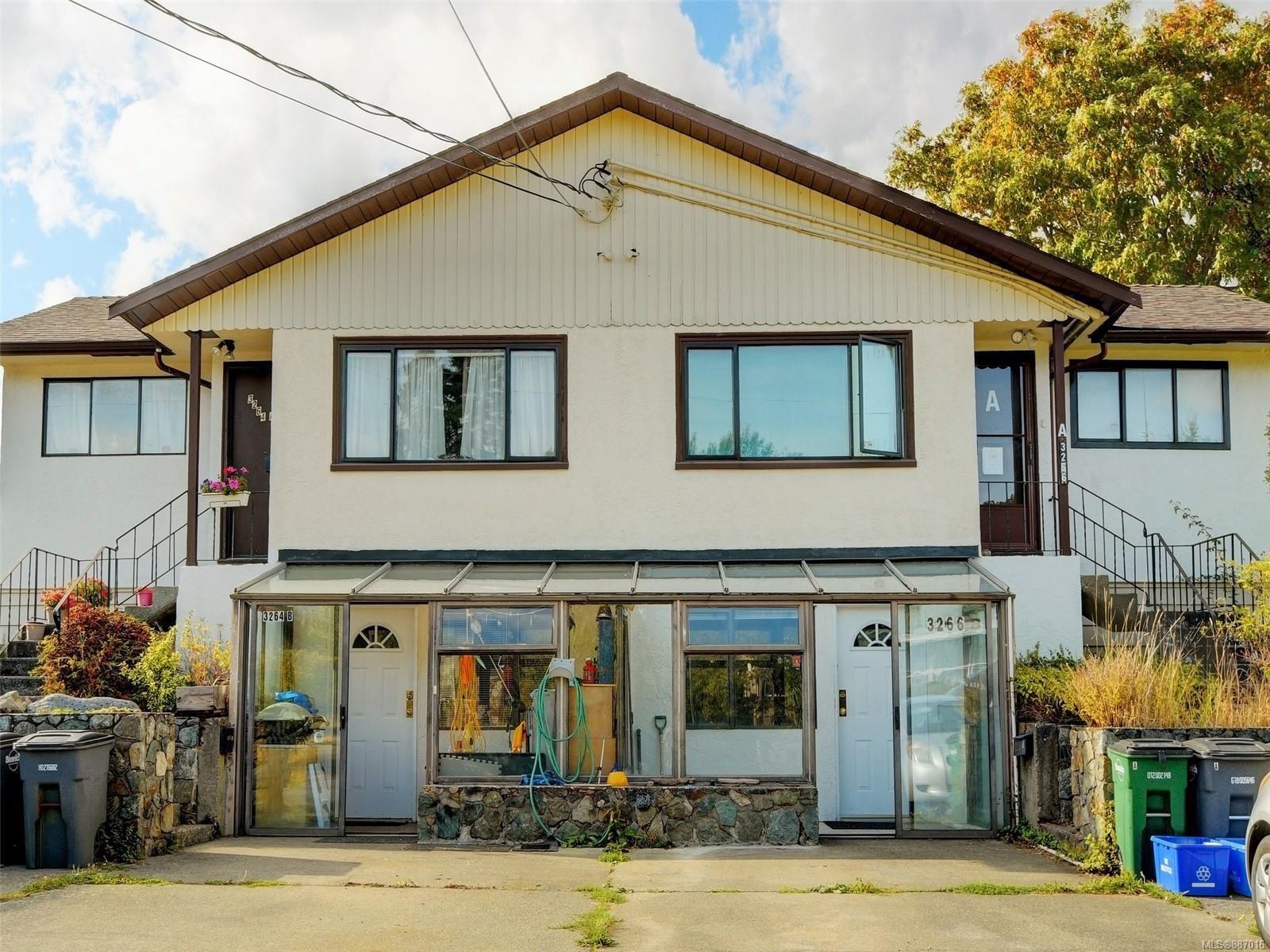 Main Photo: 3264/3266 Millgrove St in : SW Tillicum Full Duplex for sale (Saanich West)  : MLS®# 887016