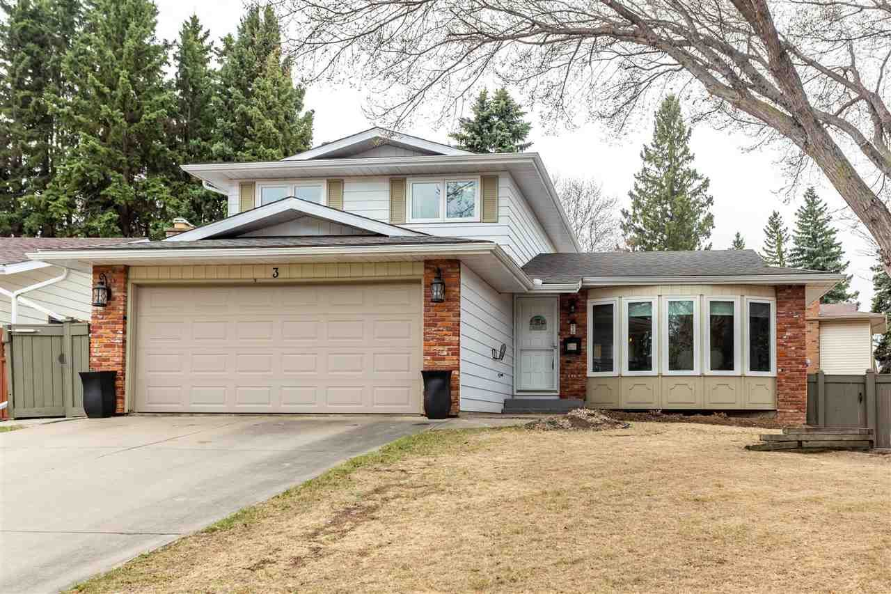 Main Photo: 3 Glen Meadow Crescent: St. Albert House for sale : MLS®# E4241391