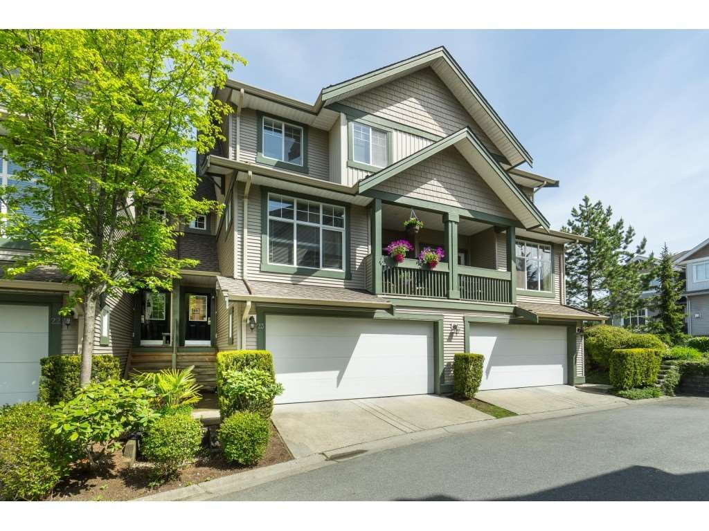 "Main Photo: 23 6050 166TH Street in Surrey: Cloverdale BC Townhouse for sale in ""WESTFIELD"" (Cloverdale)  : MLS®# R2365390"