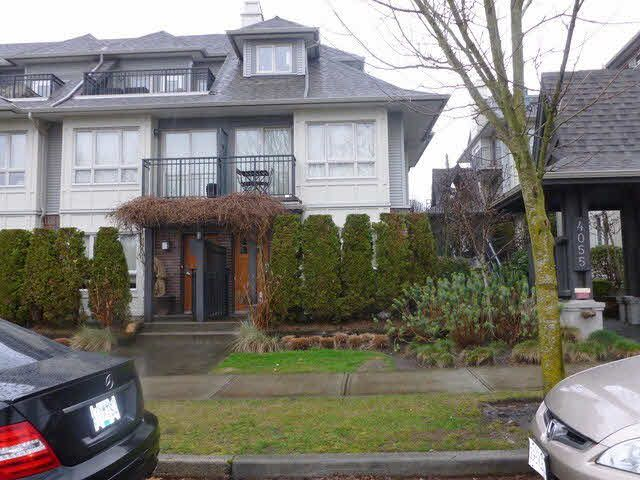 Main Photo: 8 4055 PENDER STREET in : Willingdon Heights Townhouse for sale : MLS®# V1046976
