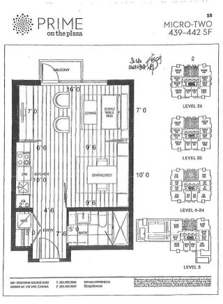 "Photo 4: 1708 13438 CENTRAL Avenue in Surrey: Whalley Condo for sale in ""PRIME"" (North Surrey)  : MLS®# R2625566"