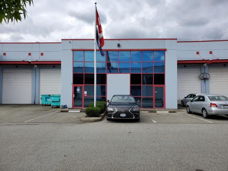 Main Photo: 110/112 42 Fawcett Road in Coquitlam: Industrial for sale