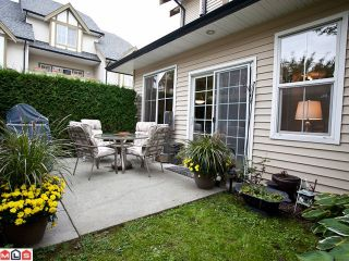 """Photo 10: 42 18707 65TH Avenue in Surrey: Cloverdale BC Townhouse for sale in """"The Legends"""" (Cloverdale)  : MLS®# F1124254"""