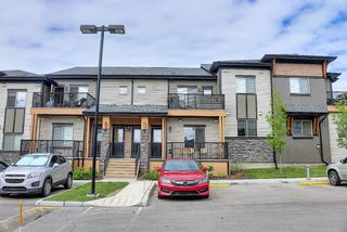 Photo 1: 1414 2461 Baysprings Link SW: Airdrie Row/Townhouse for sale : MLS®# A1123647