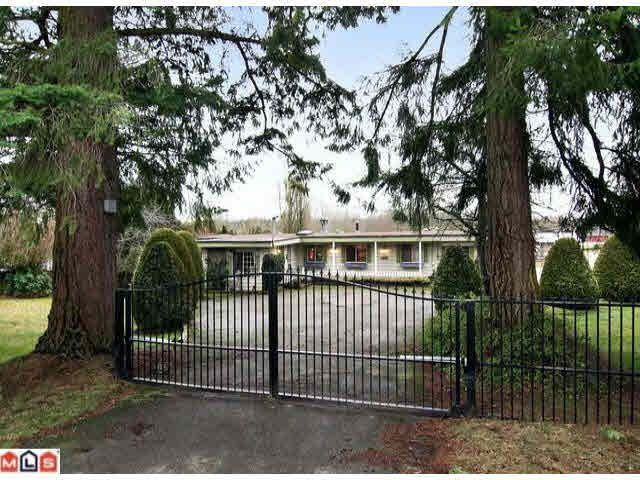 Main Photo: 20120 8 AVENUE in : Campbell Valley House for sale : MLS®# F1101077