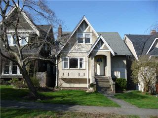 Photo 1: 3149 W 24TH Avenue in Vancouver: Dunbar House for sale (Vancouver West)  : MLS®# V938356