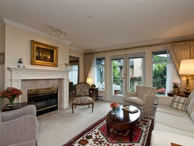 """Main Photo: 210 1140 STRATHAVEN Drive in North Vancouver: Northlands Condo for sale in """"STRATHAVEN"""" : MLS®# V850181"""