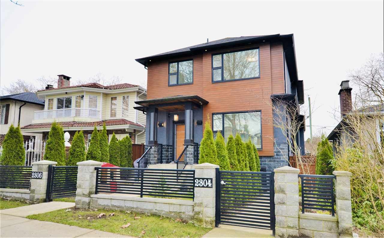 Main Photo: 2306 E 28TH Avenue in Vancouver: Victoria VE 1/2 Duplex for sale (Vancouver East)  : MLS®# R2543105