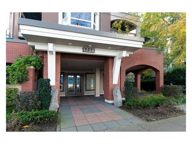 """Main Photo: 305 1738 ALBERNI Street in Vancouver: West End VW Condo  in """"ATRIUM ON THE PARK"""" (Vancouver West)  : MLS®# V857374"""