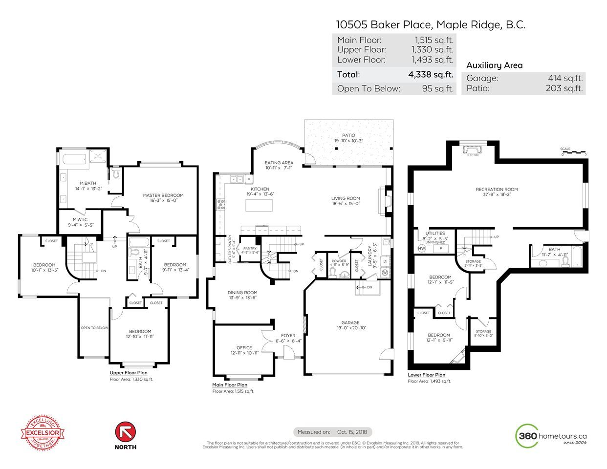 """Photo 20: Photos: 10505 BAKER Place in Maple Ridge: Albion House for sale in """"MAPLE CREST"""" : MLS®# R2316193"""