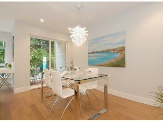 """Photo 5: # 1 1466 EVERALL ST: White Rock Townhouse for sale in """"THE FIVE"""" (South Surrey White Rock)  : MLS®# F1313640"""