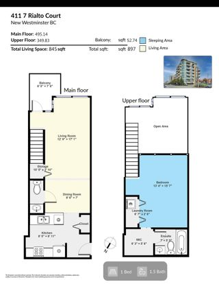 """Photo 37: 411 7 RIALTO Court in New Westminster: Quay Condo for sale in """"Murano Lofts"""" : MLS®# R2625495"""