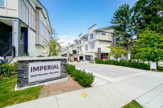 "Photo 1: 58 15665 MOUNTAIN VIEW Drive in Surrey: Grandview Surrey Townhouse for sale in ""IMPERIAL"" (South Surrey White Rock)  : MLS®# R2485220"