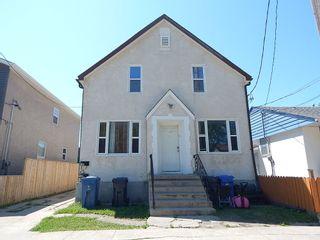 Photo 1: 458 Burrows Avenue in Winnipeg: Duplex for sale : MLS®# 1819452