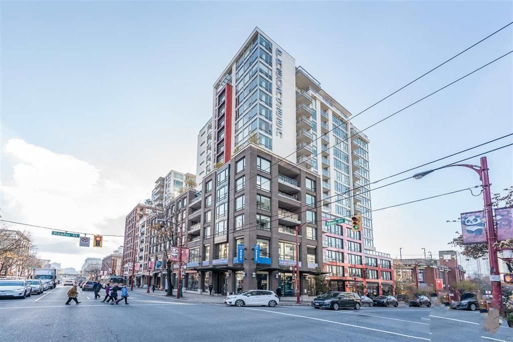 """Main Photo: 1501 188 KEEFER Street in Vancouver: Downtown VE Condo for sale in """"188 Keefer"""" (Vancouver East)  : MLS®# R2543591"""