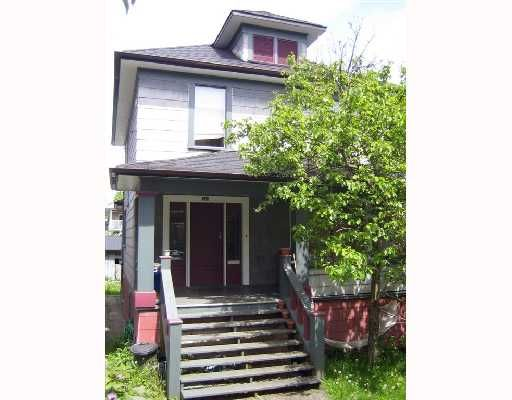 Main Photo: 723 E 11TH Avenue in Vancouver: Mount Pleasant VE House for sale (Vancouver East)  : MLS®# V714872