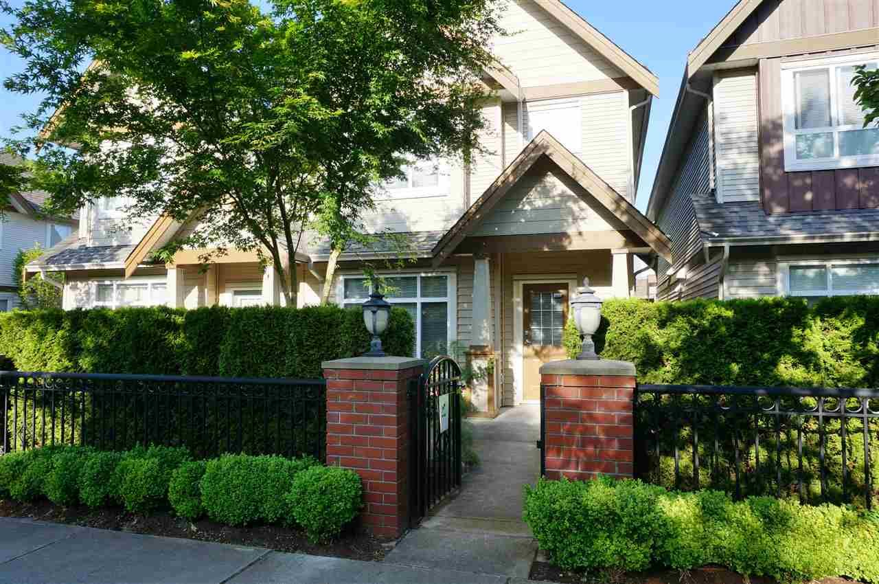 "Main Photo: 2 7788 ASH Street in Richmond: McLennan North Townhouse for sale in ""JADE GARDENS"" : MLS®# R2071093"