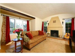 Photo 2: MISSION HILLS House for sale : 4 bedrooms : 4188 ARDEN WAY in San Diego