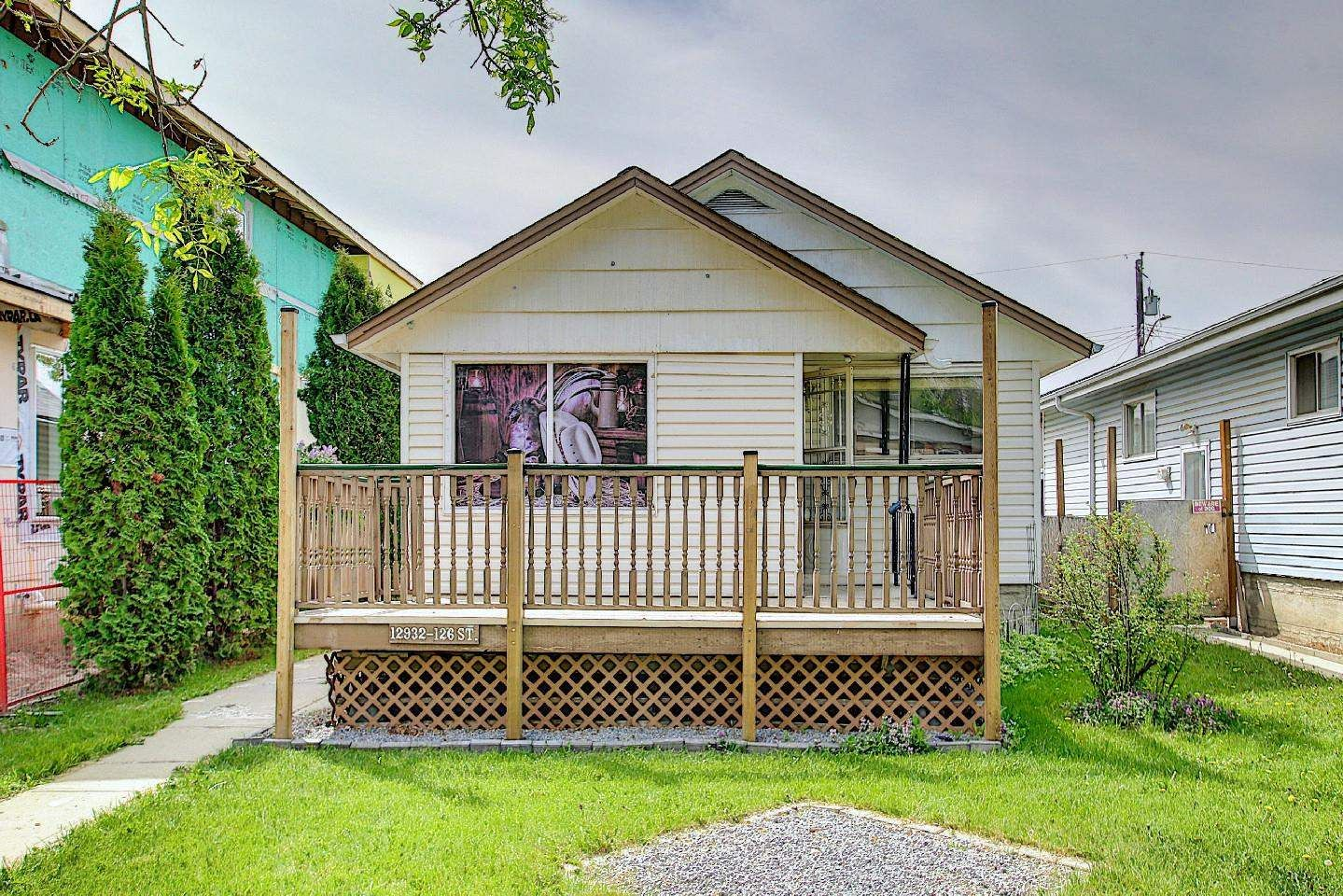 Main Photo: 12932 126 Street in Edmonton: Zone 01 House for sale : MLS®# E4247489
