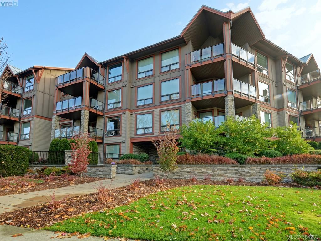 Main Photo: 409 4529 West Saanich Rd in VICTORIA: SW Royal Oak Condo for sale (Saanich West)  : MLS®# 773748