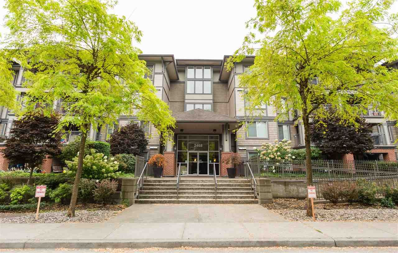 """Main Photo: 313 2468 ATKINS Avenue in Port Coquitlam: Central Pt Coquitlam Condo for sale in """"THE BORDEAUX"""" : MLS®# R2202920"""