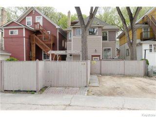 Photo 20: 166 Ruby Street in Winnipeg: West End / Wolseley Residential for sale (West Winnipeg)  : MLS®# 1612567